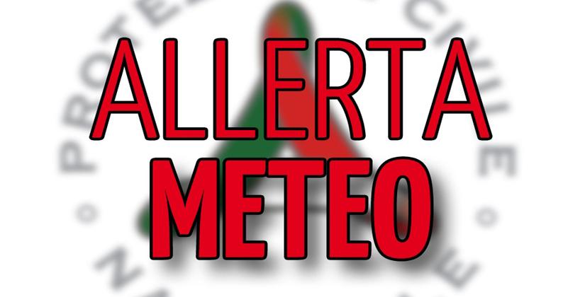 Maltempo: allerta meteo in Campania di colore arancione, previste piogge e venti forti