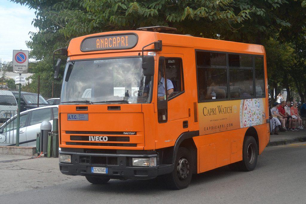 Problematiche inerenti il servizio di trasporto pubblico locale su gomma: convocato il Consiglio Comunale di Capri