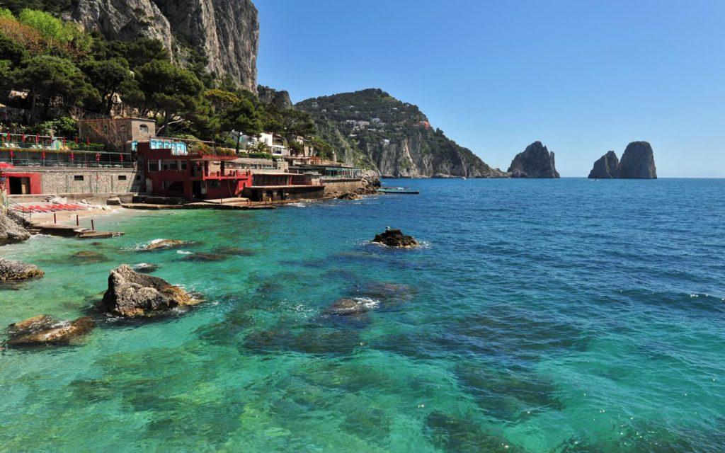 Iter per l'istituzione dell'area marina protetta dell'isola di Capri, comunicato della Lista Anacapri