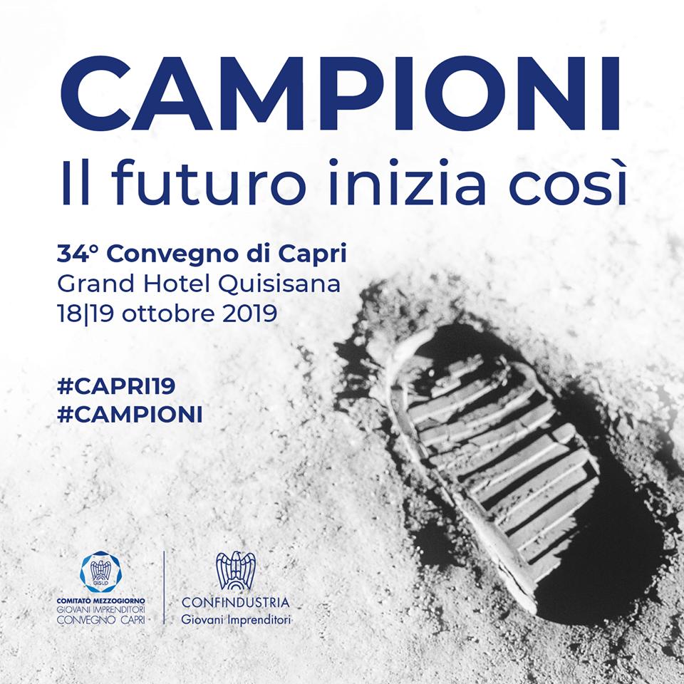 """Confindustria: """"Nella manovra del Governo nulla per i giovani"""". Presentato il convegno di Capri, invitato anche il premier Conte. Il programma del meeting"""