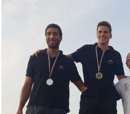 Due atleti capresi trionfano nel triathlon: straordinario successo di Ernesto e Gianluca