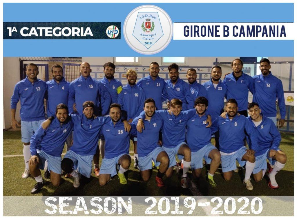 Calcio, campionato di Prima Categoria: il Real Anacapri espugna il campo del Maued Sport