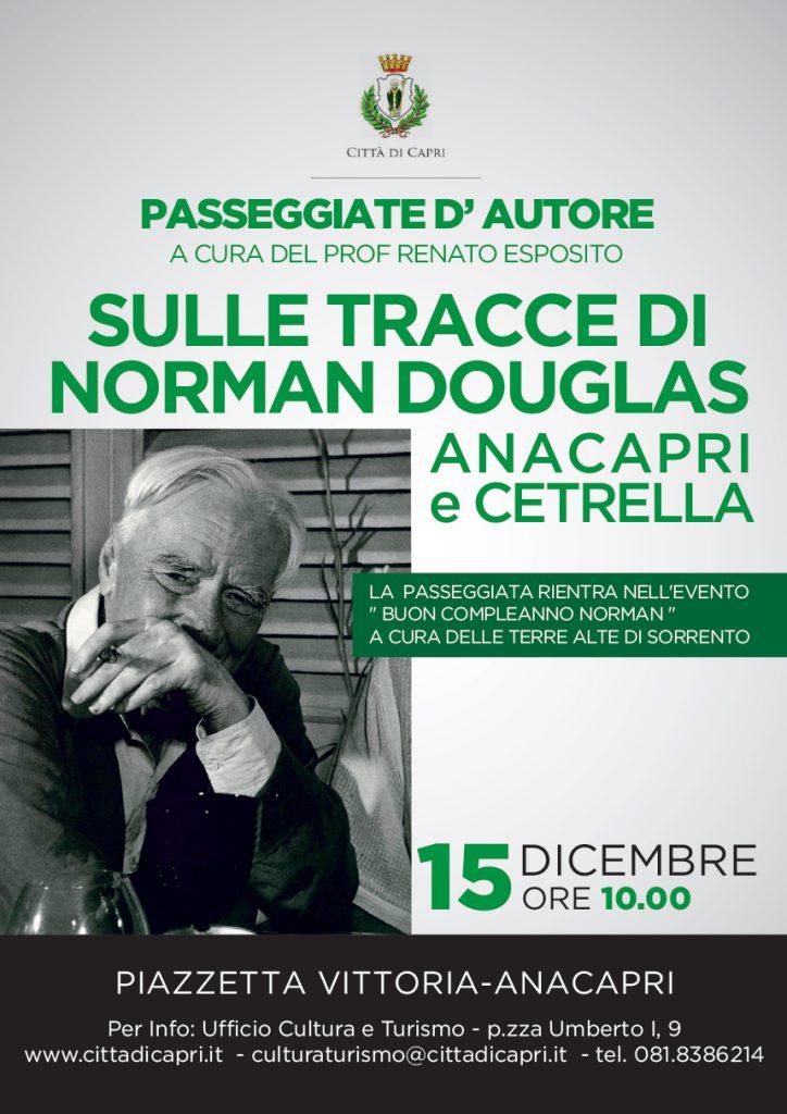 Anacapri, passeggiata a Cetrella per un incontro ideale tra Norman Douglas e Compton Mackenzie