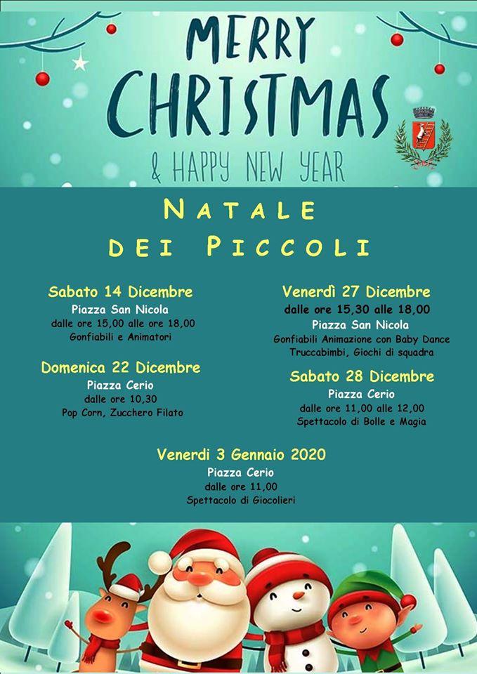 Natale dei piccoli: il calendario delle iniziative per i bambini promosse ad Anacapri
