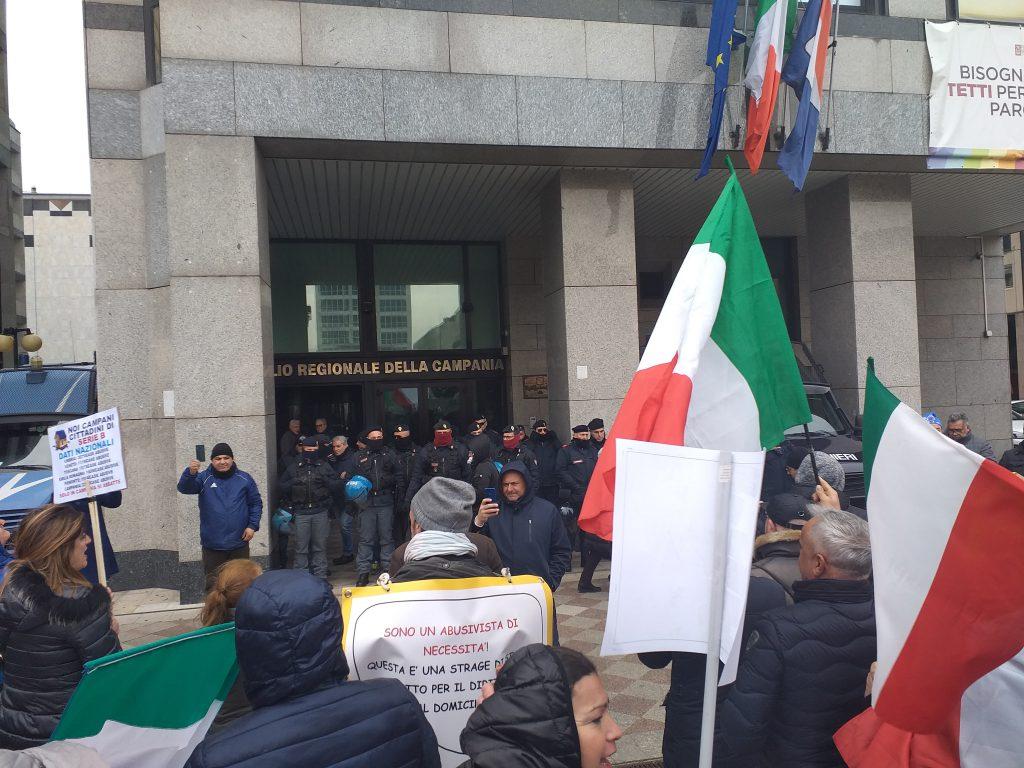 Ricevuta in Regione delegazione di manifestanti per il diritto alla casa: chiesti protocollo d'intesa per disciplinare l'ordine delle demolizioni e interventi normativi