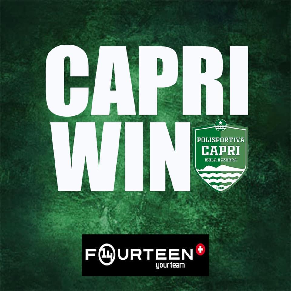Calcio, campionato di Prima Categoria: la capolista Capri Isola Azzurra sconfigge anche l'Arzanese
