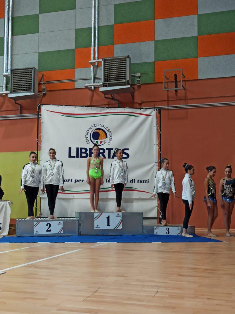 Ginnastica ritmica: atleta anacaprese Giorgia D'Ambrosio dell'Asd Sirenide trionfa al campionato provinciale