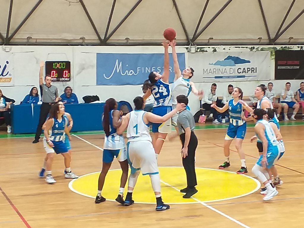 Clamorosa decisione della Fip: stop nel weekend alle partite di basket in Campania, costretta a fermarsi anche l'Olimpia Capri