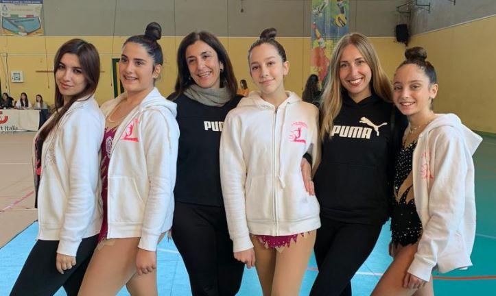 Ginnastica ritmica: grandi risultati per le atlete dell'Asd Sirenide Capri al Trofeo Arcobaleno di Battipaglia