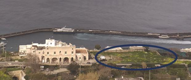 L'ipotesi: atterraggio degli elicotteri per il soccorso sanitario a Capri sui terreni di Campo di Pisco in via Don Giobbe Ruocco