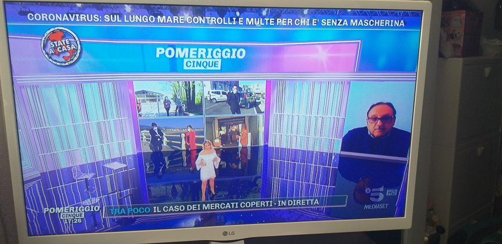 """Marino Lembo ospite di Barbara D'Urso: """"Capri isola delle vacanze si difende, sbarca solo chi è autorizzato"""""""