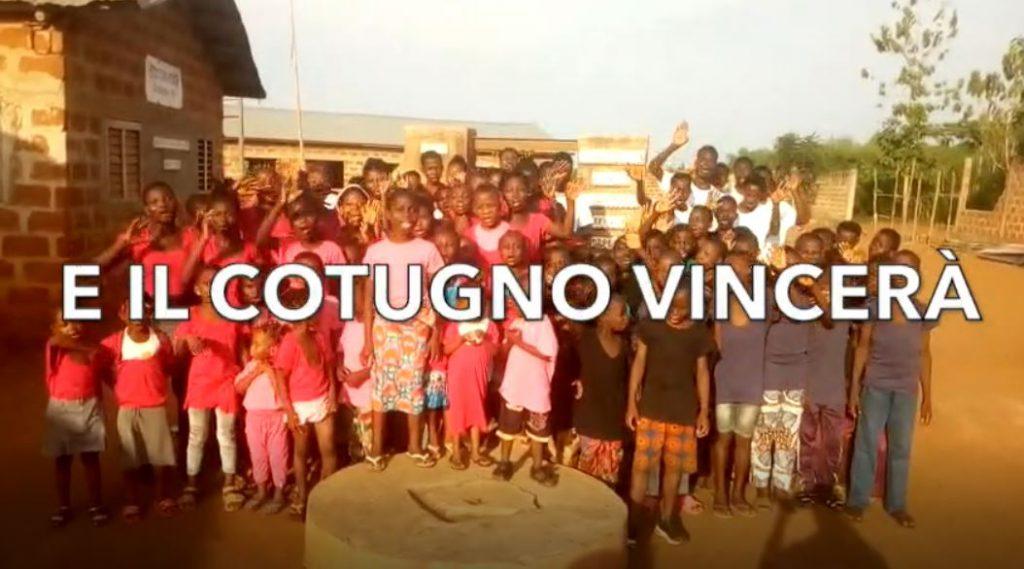 """""""E il Cotugno vincerà"""": dai bimbi dell'Africa arriva questo emozionante video musicale di speranza e incoraggiamento"""