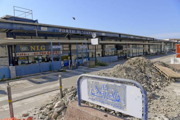 Riparte il cantiere per il nuovo Molo Beverello di Napoli che cambierà il volto dell'accesso alle isole del golfo