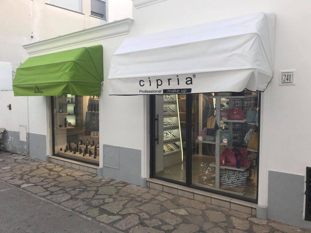 Apre ad Anacapri il primo nuovo negozio dopo il lockdown: Cipria make up e Capri Oleum in un inedito doppio concept store tra bellezza, accessori moda e prodotti legati all'olio anacaprese