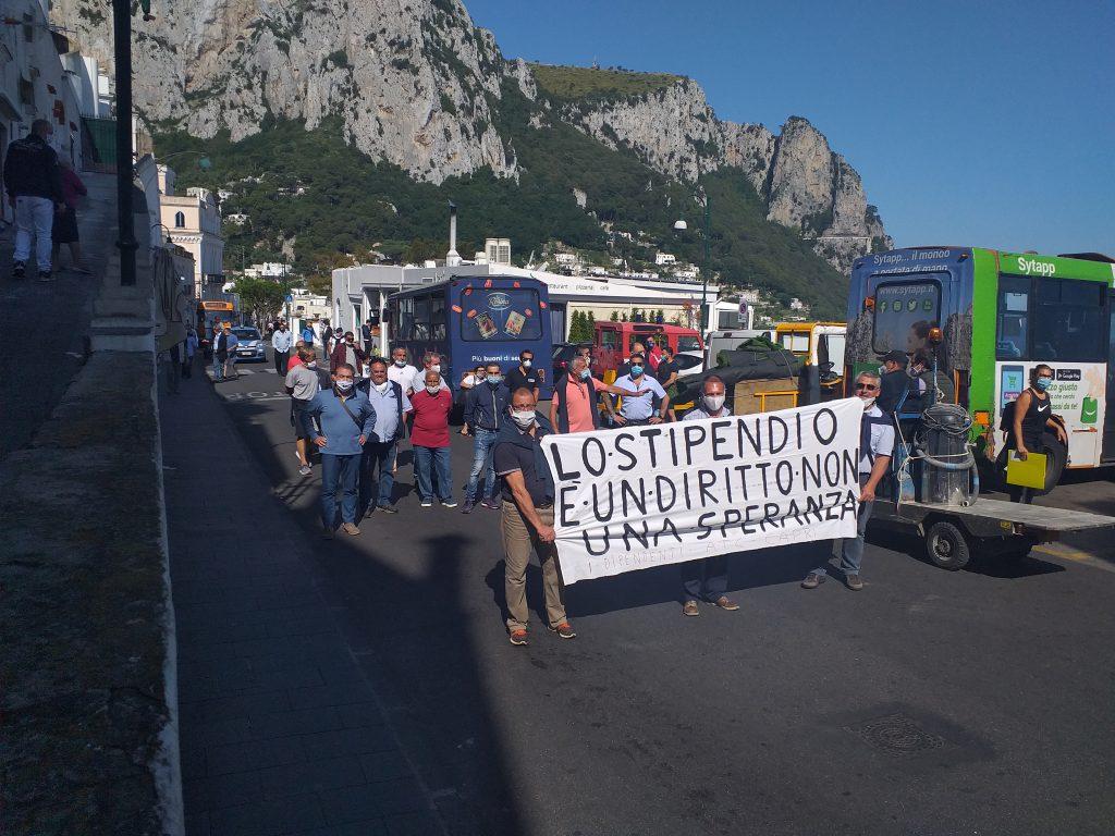 """CapriVera: """"Solidarietà e vicinanza ai dipendenti Atc in sciopero, stop a interessi personali ma costruire insieme nuovo modello di trasporto per lavoratori e utenza"""""""