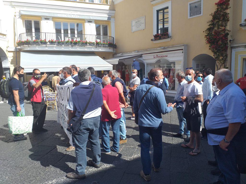 """Atc Capri, comunicato dell'USB dopo la manifestazione: """"Sciopero pienamente riuscito, ora risolvere i problemi. La vertenza si scontra con l'arroganza delle Amministrazioni dell'isola"""""""
