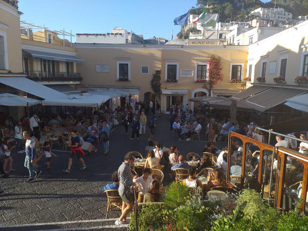 Convegno post covid sull'isola: giornata di ascolto e ricognizione ad Anacapri