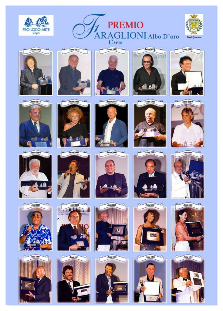 Il covid ferma il Premio Faraglioni: manifestazione rinviata al 2021