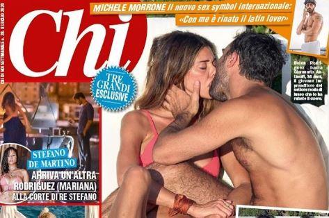 """Su """"Chi"""" lo scoop dell'estate: il bacio a Capri tra Belen e Gianmaria. L'anticipazione di Alfonso Signorini"""