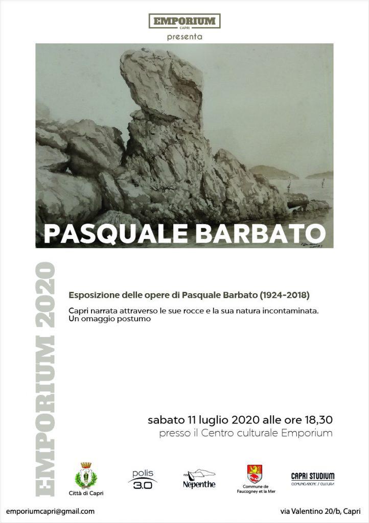 Riapre il centro culturale Emporium con una mostra dedicata al compianto pittore caprese Pasquale Barbato