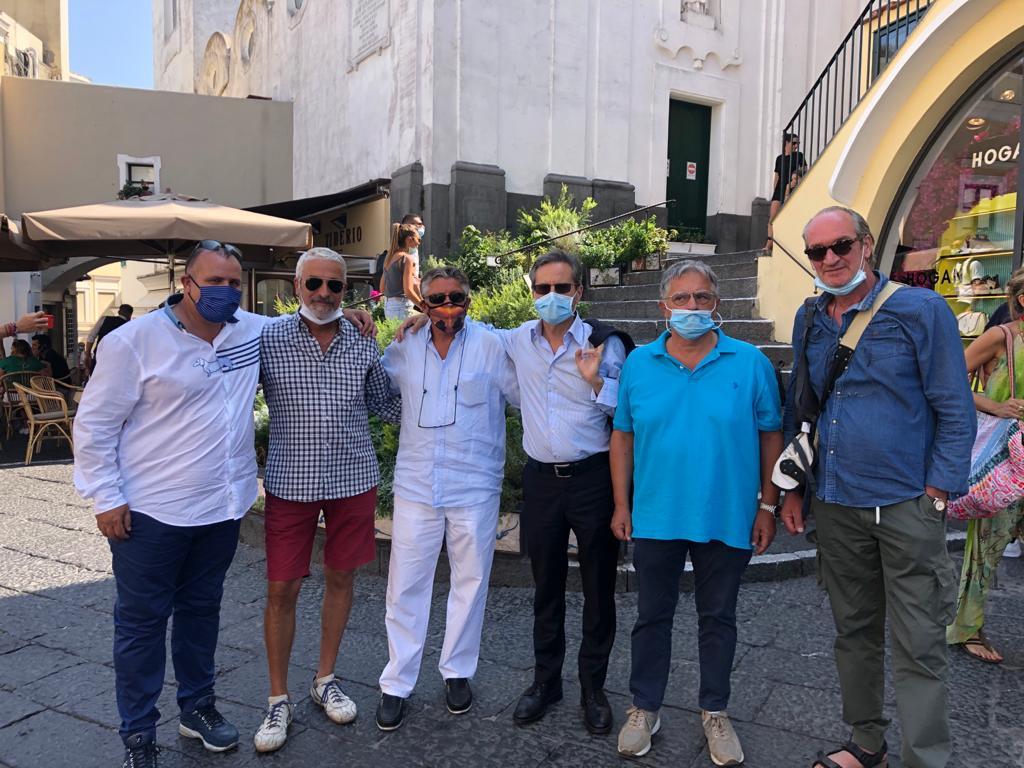 Regionali: Caldoro a Capri con Cardamuro incontra il comitato per il diritto alla casa alla vigilia del voto