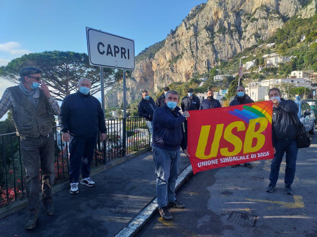 Trasporti: pagamenti spettanze e problema biglietteria, in fibrillazione il personale Atc di Capri. L'Usb attiva le procedure di raffreddamento e chiede incontro urgente all'azienda