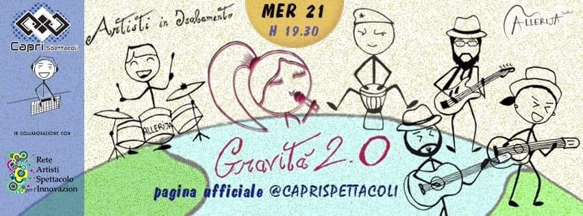 Gravità 2.0, gli Allerija in concerto in diretta web sui canali della Capri Spettacoli