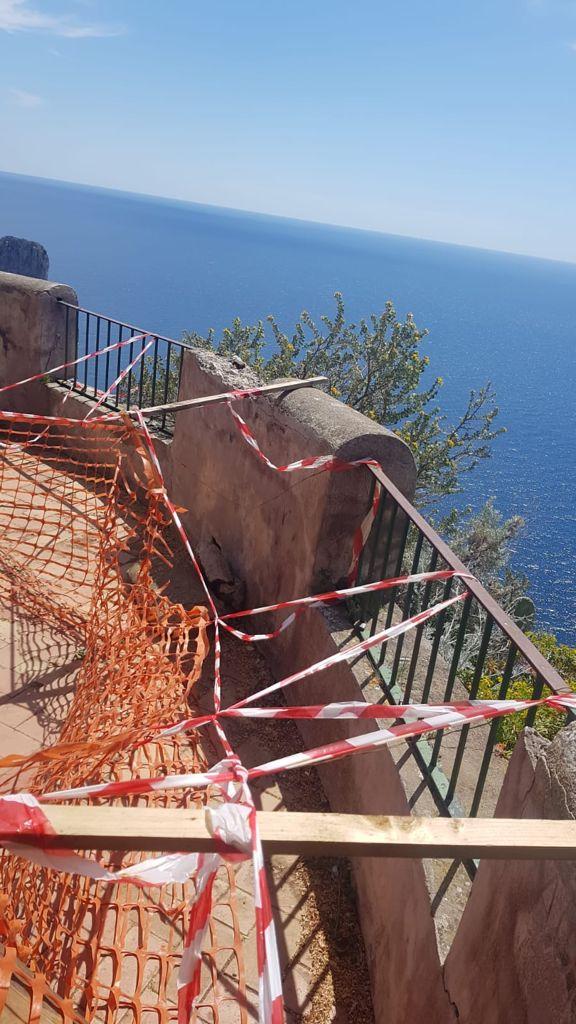 """A Capri inaccessibili via Krupp, il Pizzolungo e Punta Cannone. Appello delle associazioni: """"Dare massima priorità alla riapertura dei tre siti"""""""