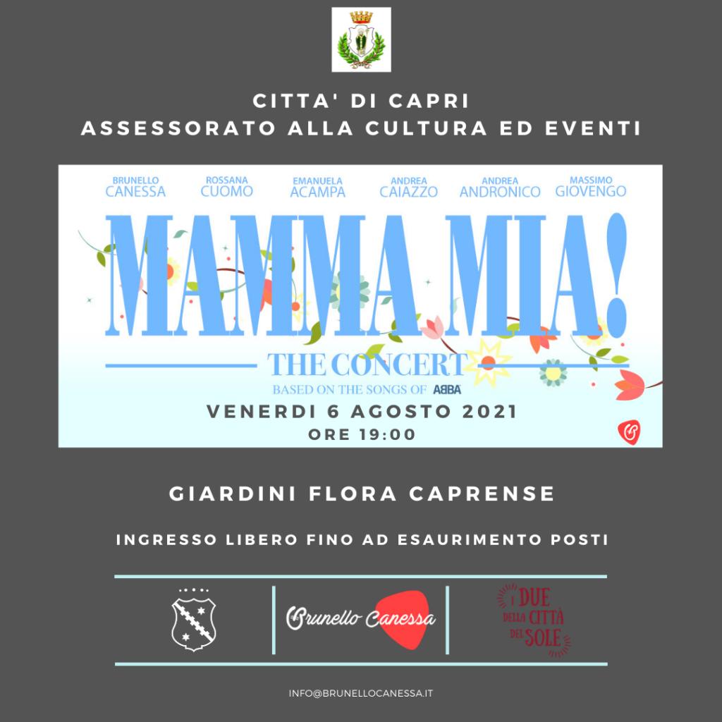"""Approda a Capri """"Mamma Mia!"""", lo spettacolo entusiasmante e coinvolgente dedicato ai grandi successi degli Abba"""